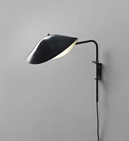 3: SERGE MOUILLE, 'Antony' wall light, from the Cité In