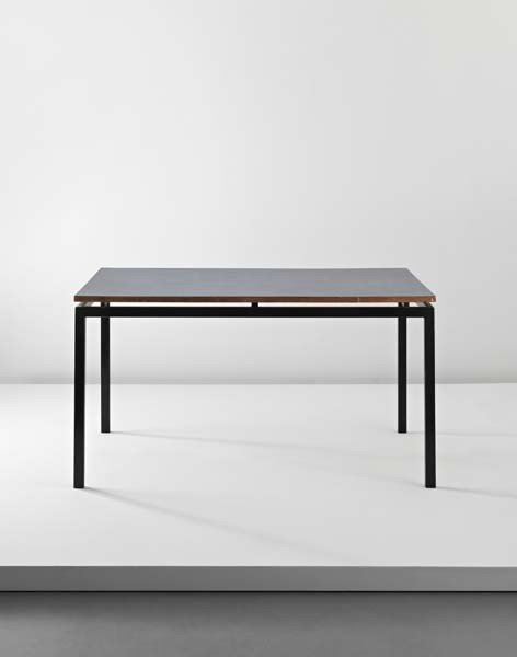 8: CHARLOTTE PERRIAND, Table with articulated joints, f