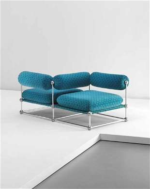 105: VERNER PANTON, 'Conversation' chair, model series