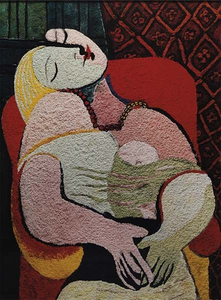 17: VIK MUNIZ, The Dream, after Picasso from the series
