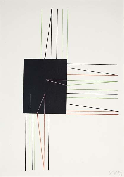 57: IVAN SERPA, Untitled, 1953