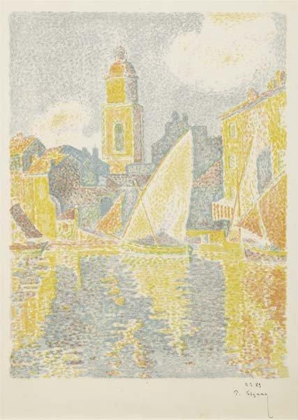 PAUL SIGNAC, Saint-Tropez: Le Port, 1897-98