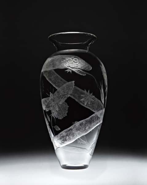 KIKI SMITH, Tattoo Vase, 2007