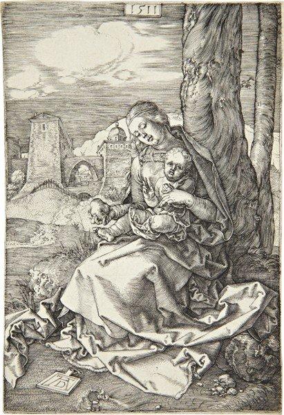 Albrecht Dürer, Madonna with the Pear, 1511