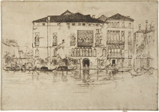James McNeill Whistler, The Palaces, 1879-80