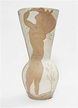 PABLO PICASSO, Grand vase aux danseurs, 1950