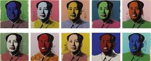ANDY WARHOL, Mao portfolio, 1972