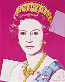 ANDY WARHOL Reigning Queens Queen Elizabeth II of the