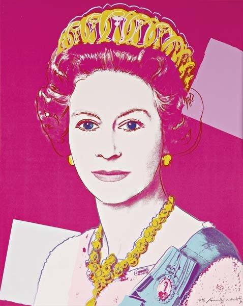 ANDY WARHOL, Reigning Queens: Queen Elizabeth II of the