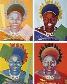 ANDY WARHOL Reigning Queens Queen Ntombi Twala of Swa