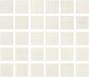 AGNES MARTIN, On a Clear Day portfolio, 1973