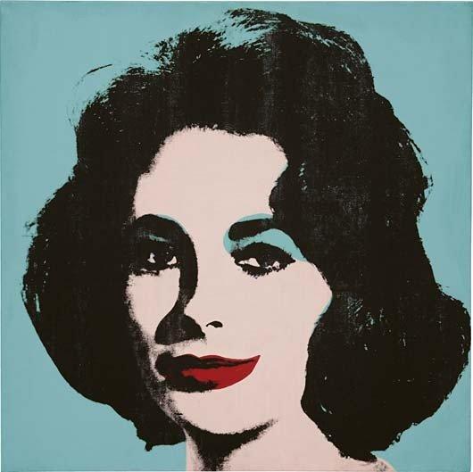 8: ANDY WARHOL, Liz #5 (Early Colored Liz), 1963