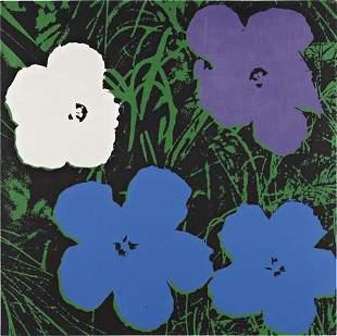 21: ANDY WARHOL, Flowers, 1964