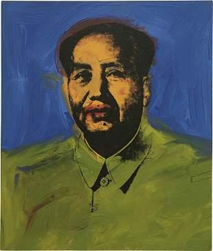 25: ANDY WARHOL, Mao (Mao 10), 1973