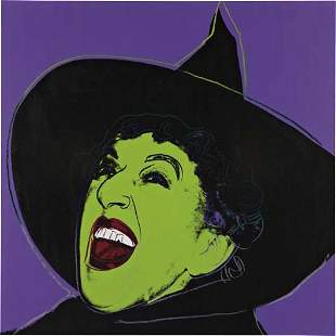 29: ANDY WARHOL, Witch, 1981