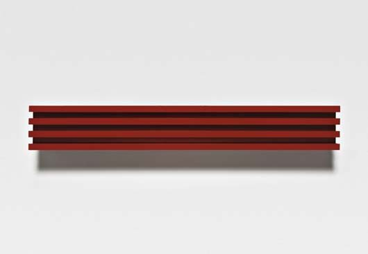 124: DONALD JUDD, Untitled, 1991