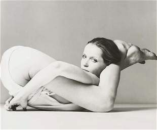 17: RICHARD AVEDON, Veruschka, Wrap by Giorgio Armani d