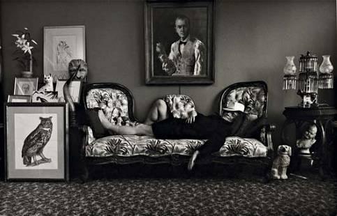 124: ARNOLD NEWMAN, Truman Capote, New York City, 1977