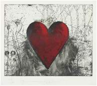 53 JIM DINE The Little Heart in a Landscape 1991