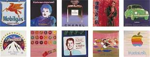 138: ANDY WARHOL Ads, 1985