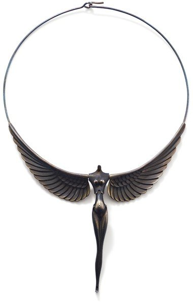 201: Nike necklace, by Paul Wunderlich
