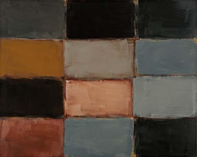 12: SEAN SCULLY, Small Horizontal Robe, 2003