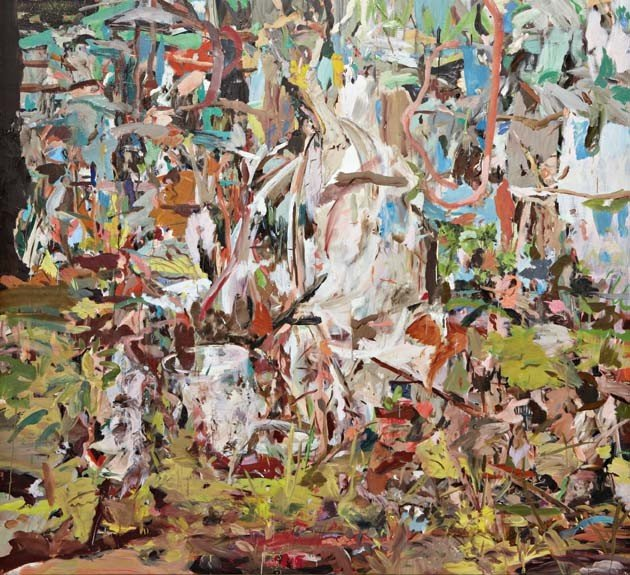 14: CECILY BROWN, I Will Not Paint Any More Boring Leav