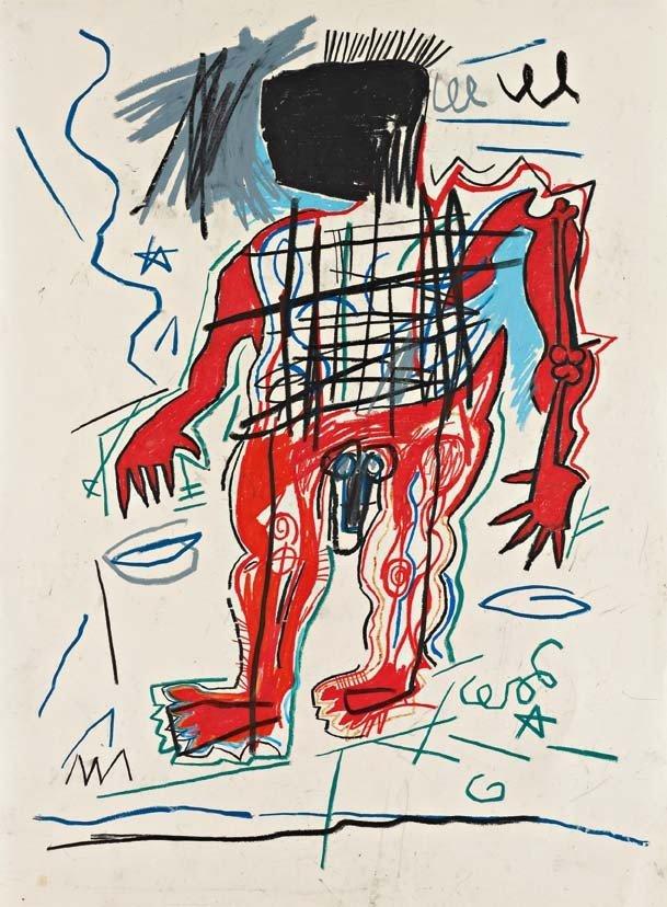 15: JEAN MICHEL BASQUIAT, Untitled, 1982