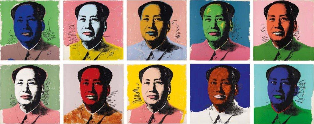 16: ANDY WARHOL, Mao, 1972