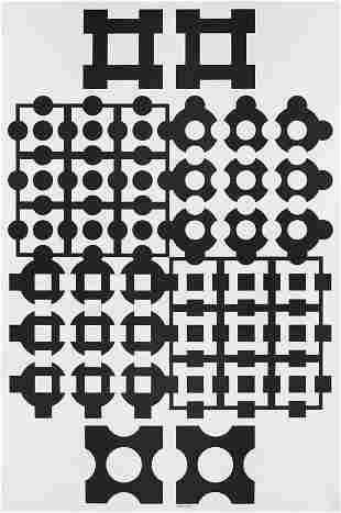26: VICTOR VASARELY, Binaire FF, 1964