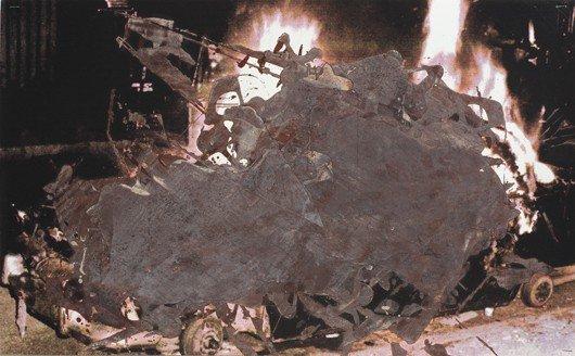 106: KELLEY WALKER, Chocolate Riot; Reversed Burning Ca