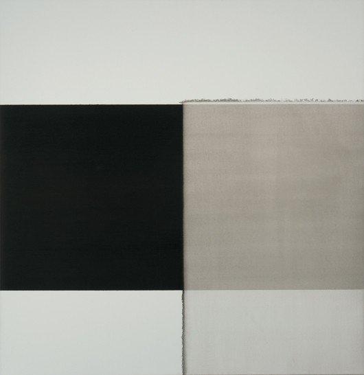 111: CALLUM INNES, Exposed Painting Intense Black, 2002