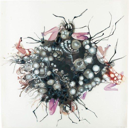 120: WANGECHI MUTU, Untitled (from Tumors), 2004