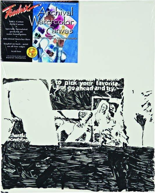 4: NATE LOWMAN, Watercolor, 2005