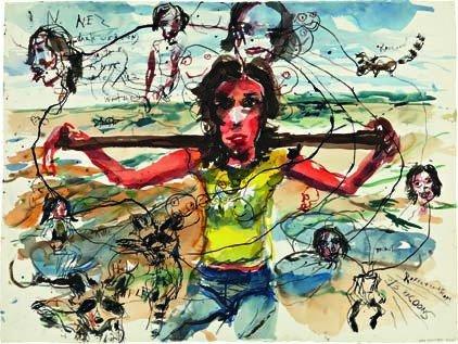 21: BRAD KAHLHAMER, Urban Prairie Girls, 2004