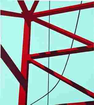 294: ALLAN D'ARCANGELO, Alignment, 1973