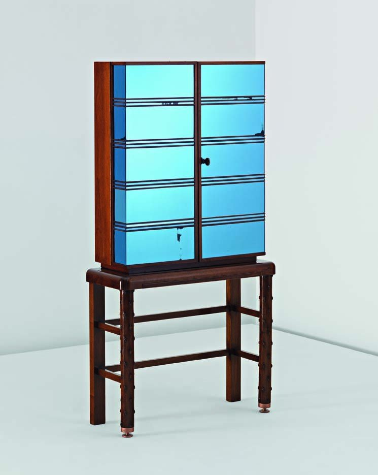 6: PIETRO CHIESA, Rare and important drinks cabinet, c.
