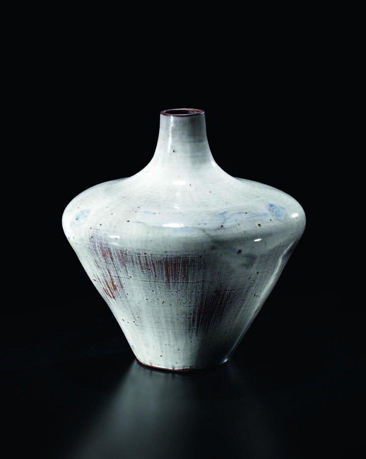 9: FRANCINE DEL PIERRE, Rare large vase, c. 1962