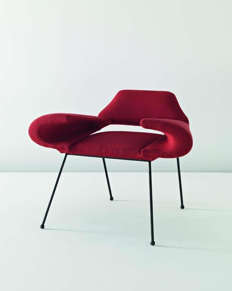 11: JEAN ROYÈRE, Unique prototype 'Orly' armchair, c. 1
