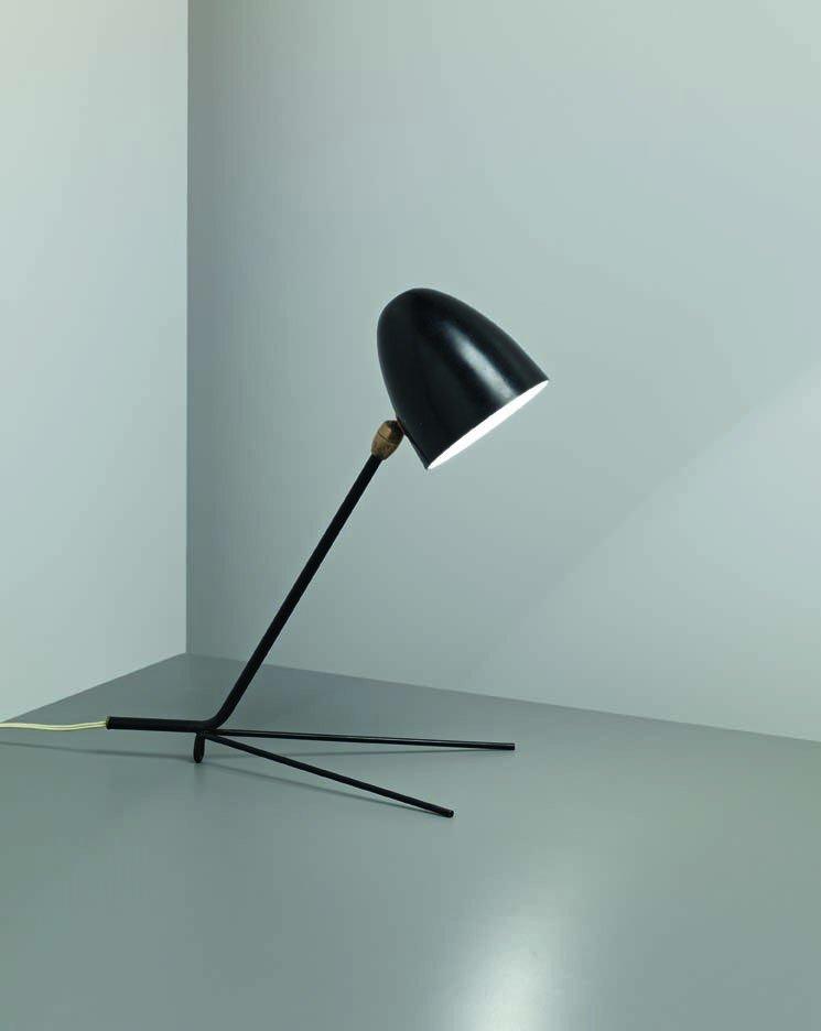 14: SERGE MOUILLE, 'Cocotte' desk lamp, c. 1957