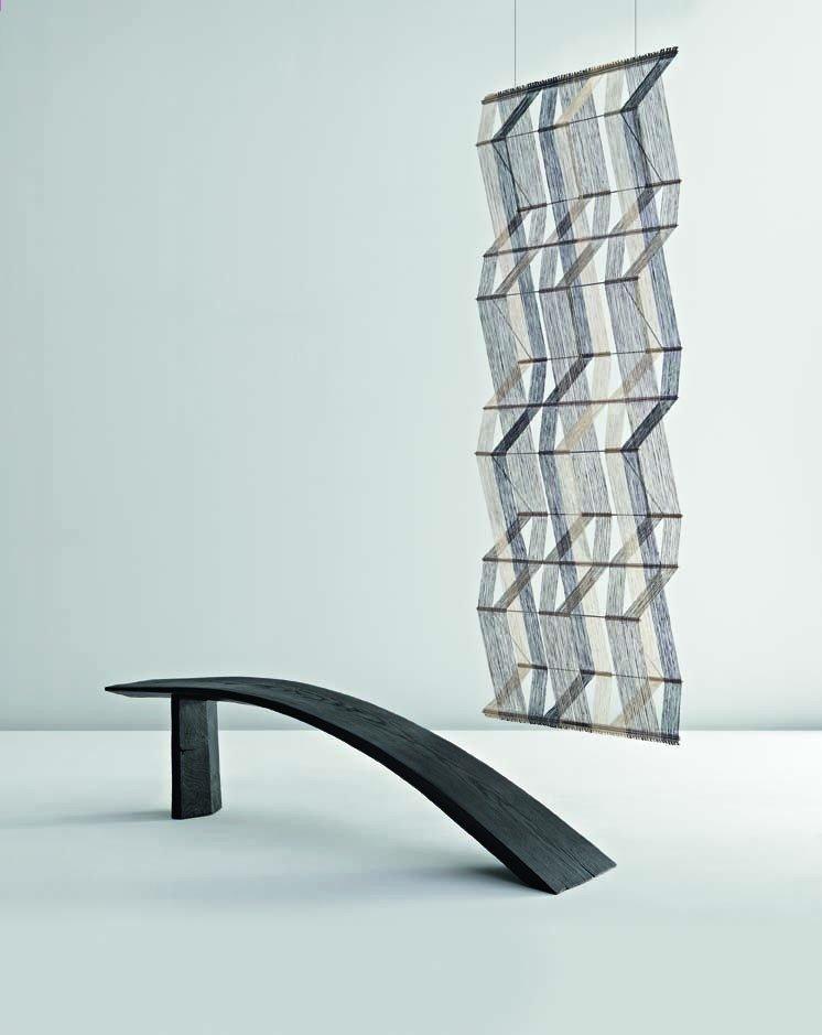 15: JIM PARTRIDGE AND LIZ WALMSLEY, 'Tapering curve', c
