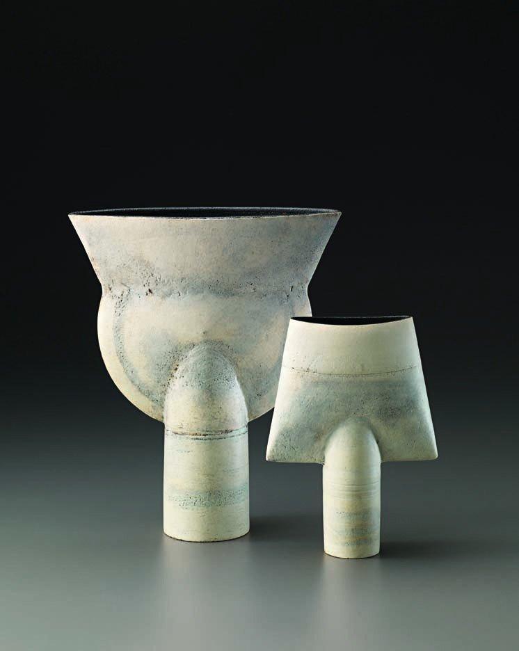 19: HANS COPER, Thistle form, c. 1975