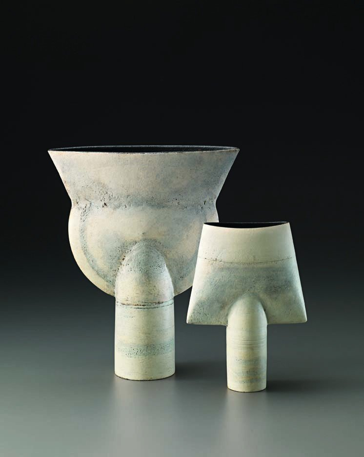 20: HANS COPER, White spade form, c. 1971