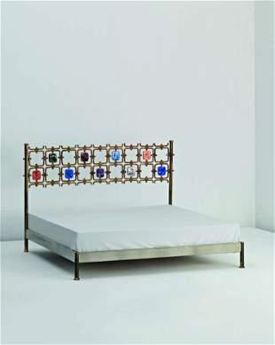 111: OSVALDO BORSANI AND ARNALDO POMODORO, Rare bed, mo