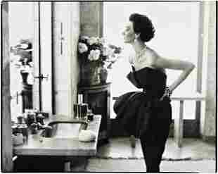 4: RICHARD AVEDON, Dorian Leigh, Evening Dress by Pigu