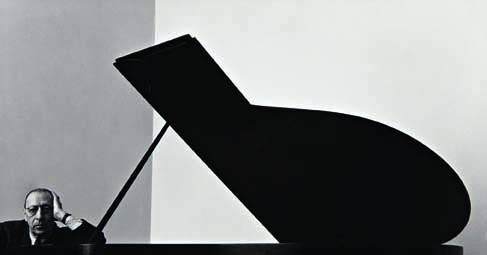 47: ARNOLD NEWMAN, Igor Stravinsky, 1946