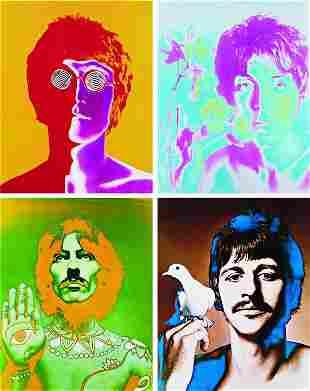 56: RICHARD AVEDON, The Beatles Portfolio: John Lennon