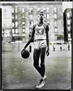 59: RICHARD AVEDON, Lew Alcindor, May 2, 1963, 61st St