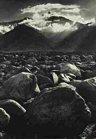 88: ANSEL ADAMS, Mt. Williamson, Sierra Nevada, from M