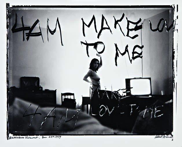 211: ROBERT FRANK, 4 A.M. Make Love To Me, Brattleboro